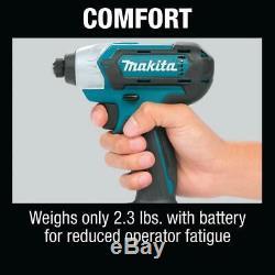 Makita Drill/Impact Driver Combo Kit 12V Lithium-Ion Battery Charger Cordless