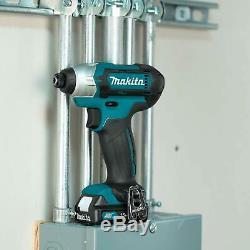 Makita Drill Impact Driver Combo Kit 12V Max CXT Lithium Ion Cordless Bundle