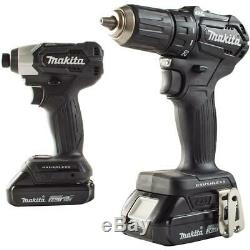 Makita Drill Impact Drivers Saw 18V Sub-Compact Cordless 3-Tool Combo Kit Set