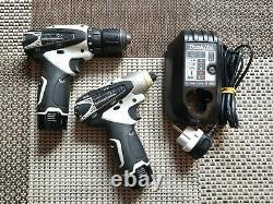 Makita Drill Set 10,8V Li-Ion Akkuschrauber DF330D / TD090D Battery screw driver