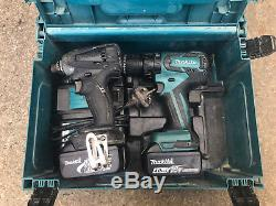Makita Drill Set Pack Combi Drill 18V + Impact Driver 4AH Batteries & Charger