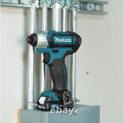 Makita Drill and Impact Driver Combo Kit 12-Volt Lithium-Ion Brushed Cordless D