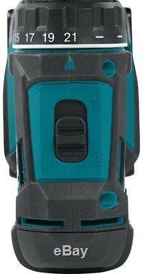 Makita Driver Drill And Impact Driver Combo Kit 18-V Cordless Batteries Charger
