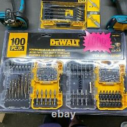 Makita Driver Drill And Impact Driver Combo tools only with 135 pcs Bit Set