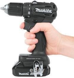 Makita Driver Drill Impact Driver 18 Volt Sub Compact Brushless Cordless Radio
