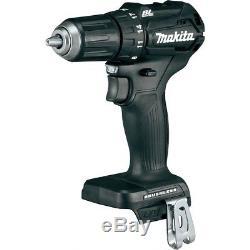 Makita Driver Drill Impact Driver Radio 3-Piece Combo 18V 2.0Ah Brushless Motor