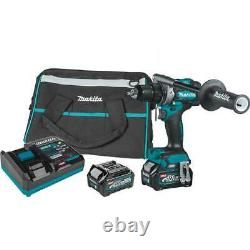 Makita GFD01D 40V MAX XGT 1/2 Brushless Driver Drill Kit with 2.5Ah Battery