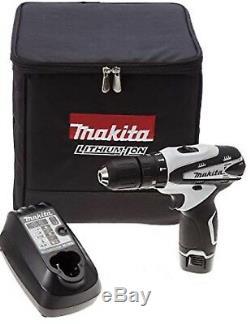 Makita HP330DWE 10.8V 1.3Ah Cordless Combi Driver Drill / 220V Charger