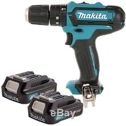 Makita HP331DZ 10.8V-12V CXT Cordless Combi Drill With 2 x 2Ah Batteries