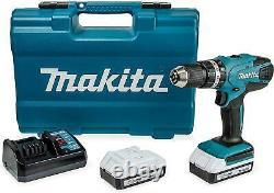 Makita HP457DWE10 G Series 18v Li-Ion Cordless Combi Drill 2 x 1.5 Ah Batteries