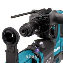 Makita HR004GD202 40v Max XGT Brushless Rotary Hammer Drill + DX14 Dust Extracto