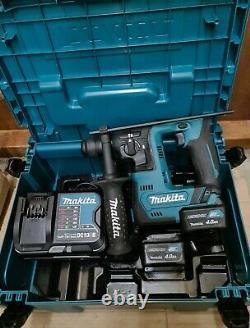 Makita HR140D 12V CXT SDS Rotary Hammer Drill Compact 2 x 4.0Ah Batteries