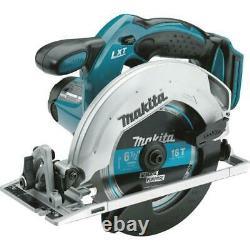 Makita Hammer Drill Combo Kit 18V Saw Drill Charger Cordless Brushed 5-Tool