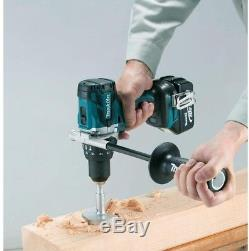 Makita Hammer Drill Impact Driver 18Volt Lithium Ion Brushless Cordless (2-Pc)