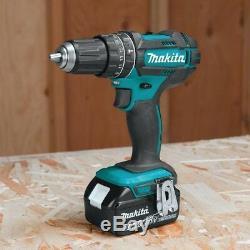 Makita Hammer Drill Impact Driver Saws Combo Kit 18-Volt Lithium Ion (7-Piece)