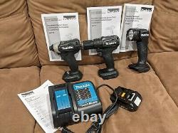 Makita Hammer Drill Impact Light battery 18V LTX Brushless Cordless Combo Kit