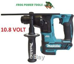 Makita Hr166dz 10.8v Cxt Brushless Cordless Sds+ Hammer Drill Body Brand New