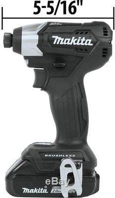 Makita Impact Drill Driver Radio Combo Kit 18-Volt Lithium-Ion Cordless 3-Piece