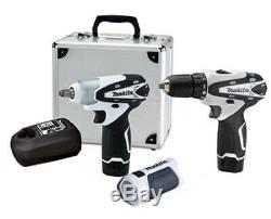 Makita LCT309W 3 Pc Max Cordless Drill/Impact Tool Kit