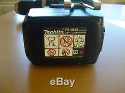 Makita LXT 18V Cordless Drill Driver plus 18V makita genuine Li-ion 3AH battery