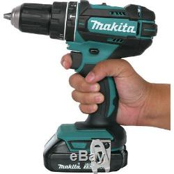 Makita Li-Ion Compact Hammer Driver-Drill Kit XPH10R-R Reconditioned