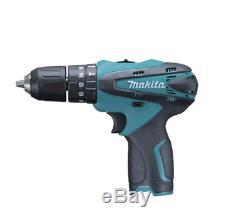 Makita Li-ion Battery 10.8V Cordless Hammer Drill Driver HP330D Baretool