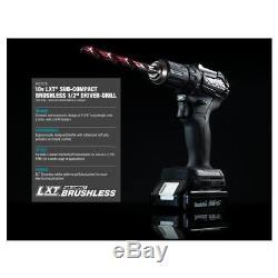 Makita Sub-Compact Brushless 18V Drill / Impact Cordless Combo Kit CX200RB