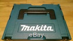 Makita White Drill Driver & Impact Set Stackable Case, 2 Batteries & Charger 0A