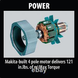 Makita XAD02-R 18V LXT LiIon Cordless 3/8 Angle Drill Kit with Case, 3.0Ah