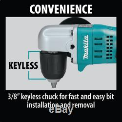 Makita XAD02Z 18V LXT Lithium-Ion Cordless 3/8 Angle Drill, Tool Only