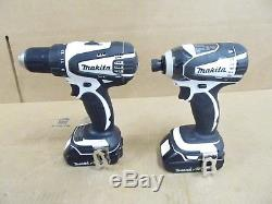 Makita XDT04 1/4 Impact Driver & XFD01 1/2 Drill/Driver Combo Tool Kit