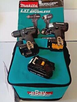 Makita XDT15 XFD11 1/2 Brushless Cordless Drill, Driver, 1 battery with Case