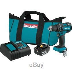 Makita XFD061 18V LXT Brushless Compact Cordless 1/2 Driver-Drill Kit (3.0 Ah)