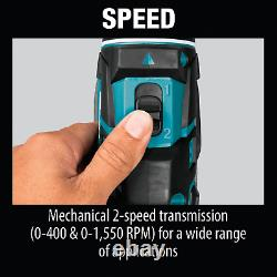 Makita XFD061 18V Lithium-Ion Compact Brushless/Cordless 1/2 Driver/Drill Kit