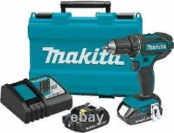 Makita XFD10R-R 18V LXT Compact Cordless 1/2 DriverDrill Kit, 2.0Ah