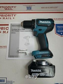 Makita XFD13 18-Volt 1/2 2-Speed Lit-Ion Brushless Drill Driver +3.0 battery