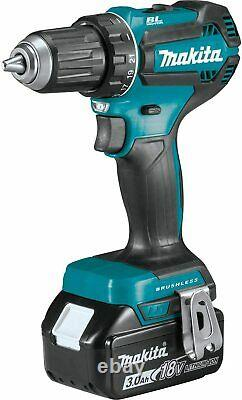Makita XFD131 18V LXT Lithium-Ion Brushless Cordless 1/2 In Driver-Drill Kit