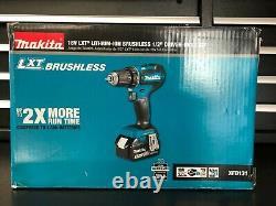 Makita XFD131 18v LXT Lithium Ion Brushless Cordless 1/2 Driver Drill Kit