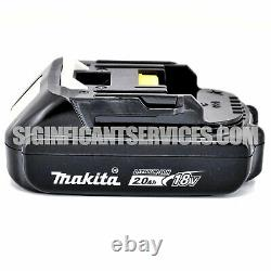Makita XFD13Z 18V 1/2 Li-Ion Cordless Brushless Drill Driver 2.0 Ah Battery Kit