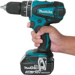 Makita XPH01 / bhp456 18V Lithium-Ion 1/2-Inch Hammer Driver-Drill +battery 4.0