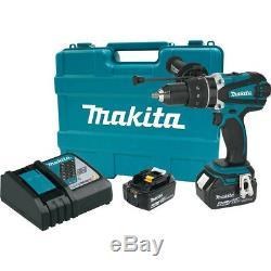 Makita XPH03MB 18V LXT Li-Ion Cordless 1/2 Hammer Driver-Drill Kit