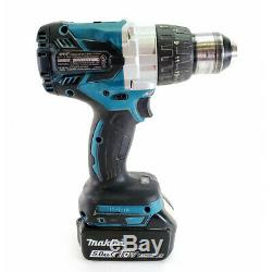 Makita XPH07 18V LXT Lithium-Ion Brushless 1/2 Hammer Driver-Drill with Makita XD