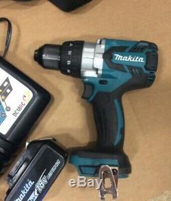 Makita XPH07 18V Li-Ion 1/2 Hammer Drill Driver Kit