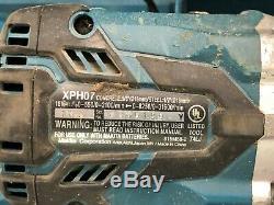 Makita XPH07 18V Li-ion 1/2 Cordless Hammer Drill 125226-1 TS