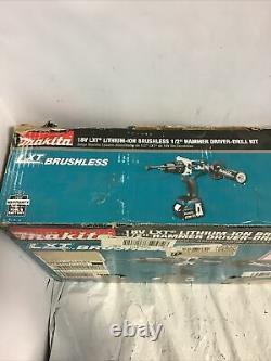 Makita XPH07MB Brushless Cordless 1/2 Hammer Driver-Drill Impact Kit 18V O
