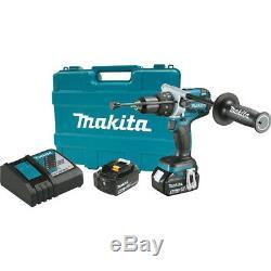 Makita XPH07TB 18V LXT Li-Ion Brushless Cordless 1/2-Inch Hammer Driver-Drill