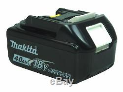 Makita XPH07Z 18V 1/2 in. Hammer Driver Drill with 2pc. BL1840B 18V 4.0Ah Battery