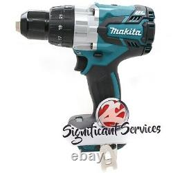 Makita XPH07Z 18V LXT Cordless Brushless 1/2 Hammer Drill Driver 5 Ah Batteries