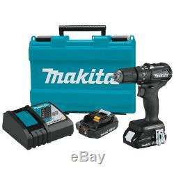 Makita XPH11RB 18-Volt 1/2-Inch Sub-Compact Cordless Hammer Driver-Drill Kit