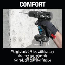 Makita XPH11ZB Sub-Compact Brushless Cordless Hammer Driver-Drill, 18V Li-Ion